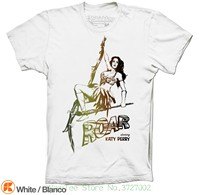 Katy Perry Roar T-shirt Inspired Prism 2013 Single Colors And Sizes Available New 2018 Fashion Hot