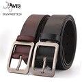 [DWTS] моды кожа мужской ремень из натуральной кожи класса люкс ремень мужской ремень для мужчин пряжкой фантазии старинные джинсы ceinture homme