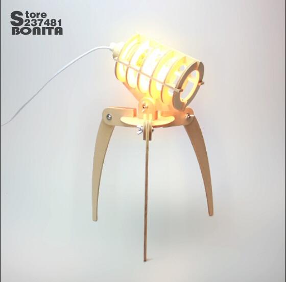 Dimmable Table Lighting Wooden DIY Lamp Chidren Gift r Present ... on diy ladybug, diy bat, diy bee, diy bug, diy frog, diy owl, diy lion, diy horse,