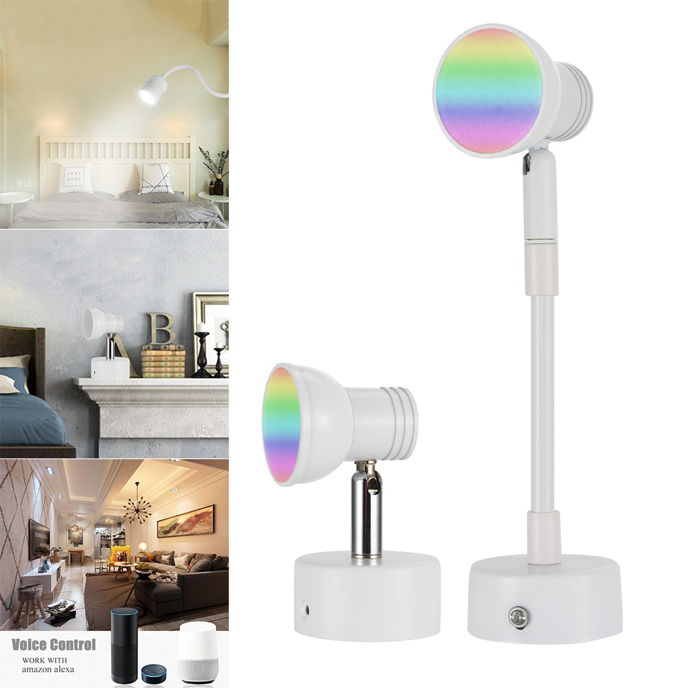 WiFi Smart LED Wall Light Bulb Time Control Dimmable Bulb for Amazon Alexa & Google Home CLH@8WiFi Smart LED Wall Light Bulb Time Control Dimmable Bulb for Amazon Alexa & Google Home CLH@8