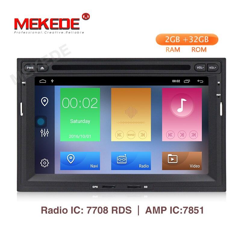 Autoradio MEKEDE 2 Din Android 9.1 pour Peugeot 3005 3008 5008 partenaire Berlingo lecteur multimédia de voiture stéréo GPS Navigation DVD