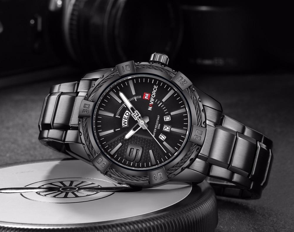 black Luxury Men's Watch