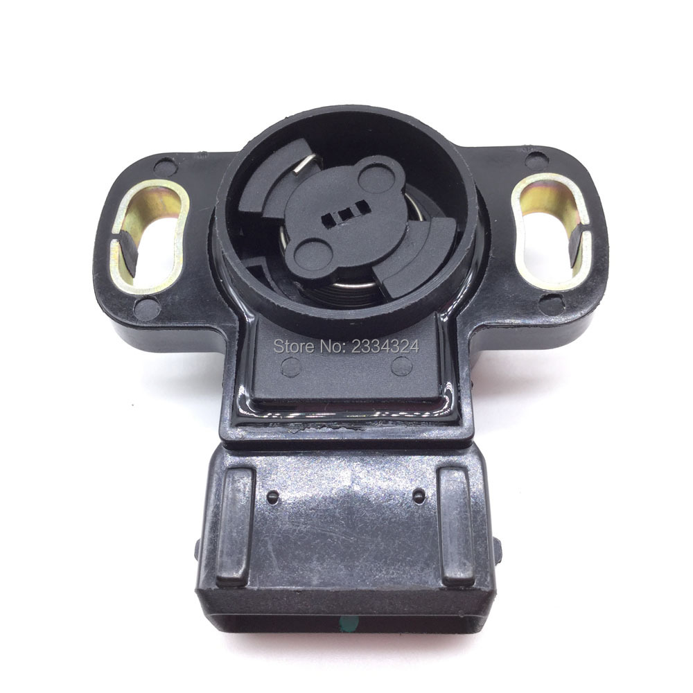 Throttle Position Sensor TPS Untuk 97-02 Mitsubishi Montero Mirage Eclipse Diamante 3.5L V6 / 1.8L 2.4L L4 MD614772, MD614734.017507