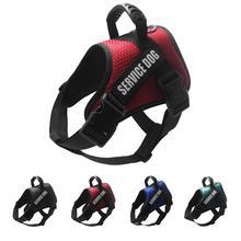 Pet Dog Harnesses Reflective Adjustable Vest Dogs Harness For Husky Labrador Shepherd Small Medium Large Supplies
