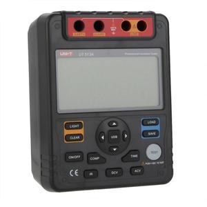 Image 2 - UT513A tester rezystancji izolacji 5000 V automatyczny zakres cyfrowy megaomomierz przechowywania danych polaryzacji indeks podświetlenie