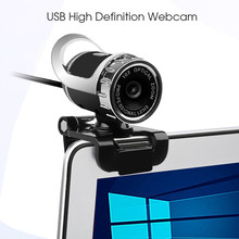 Kebidu USB HD Webcam Mit Mic Hohe Definition Web Cam 360 Grad Clip-On für Computer Skype Youtube PC laptop Notebook Kamera(China)