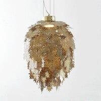 Искусственные подвесной светильник фитинги светильники абажур В индустриальном стиле современный европейский стиль итальянские лампы но