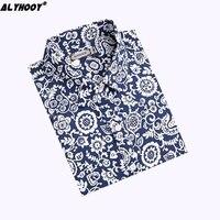 Blusas Femininas Print Blouse Long Sleeve Stylish Tops Kawaii Elegant Ladies Blouses Womens Clothing Plus Size S-4XL