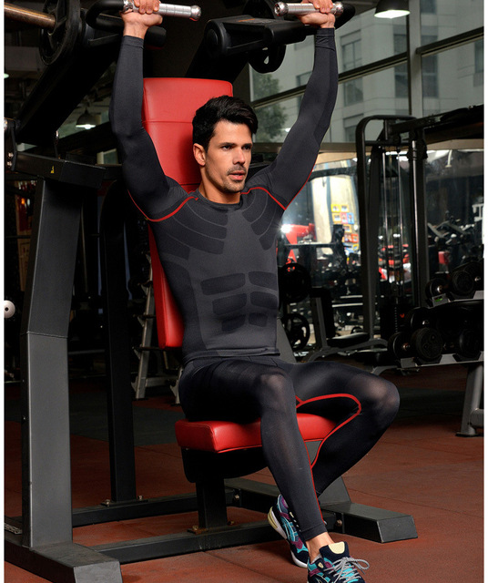 Fitness Clothes Buy Online: Aliexpress.com : Buy New Fitness Men Gym Clothes Set