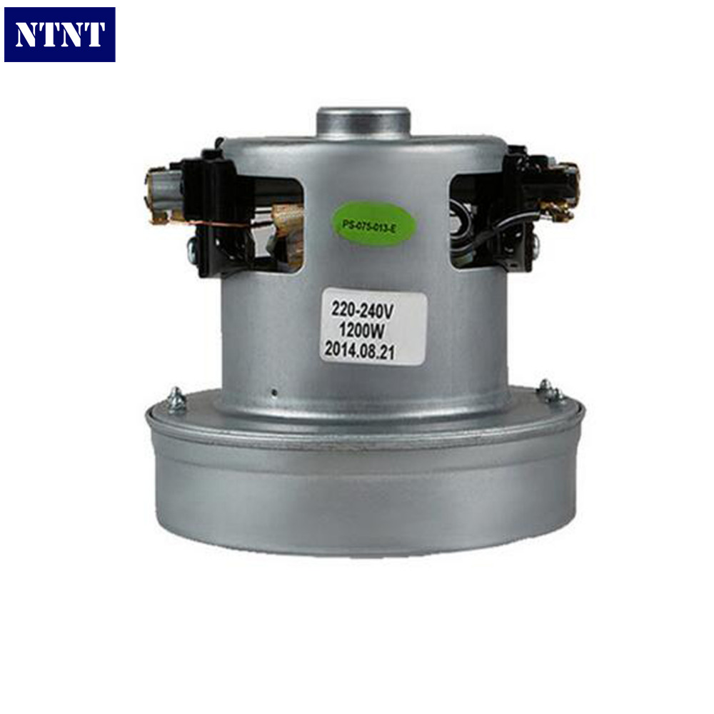NTNT 220V 1200W low noise copper motor 105mm diameter of vacuum cleaner accessories with high quality for QW12T-202 QW12T-801