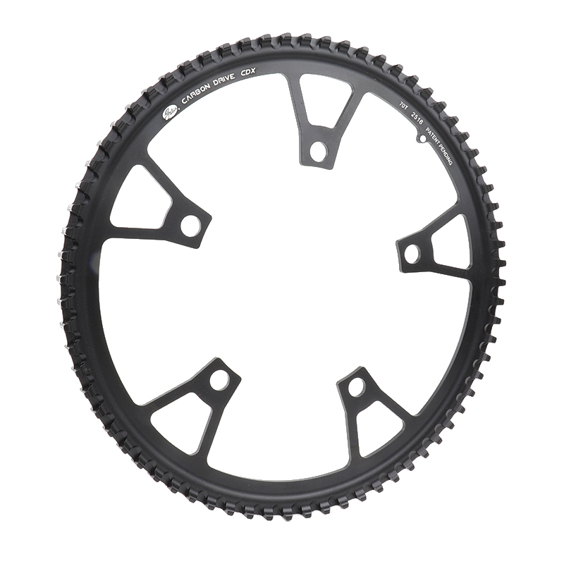 USA Gates Bicycle Sprockets Carbon Fiber Timing Belts Pulley Rubber V belt CDX Bike Drive Belt