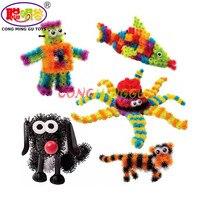 CongMingGu 400pcs Mega Pack Accessories DIY Magnetic Toys Education Assembling Building Block For Children Action Figures