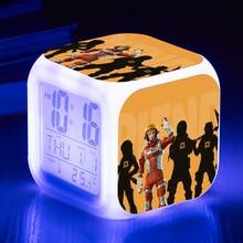 Battle Royale LED Alarm Clock