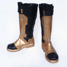 купить Hot Game OW Soldier 76 Cosplay Shoes Adult Unisex Women Men Halloween Costume Boots New Custom Made по цене 3565.93 рублей