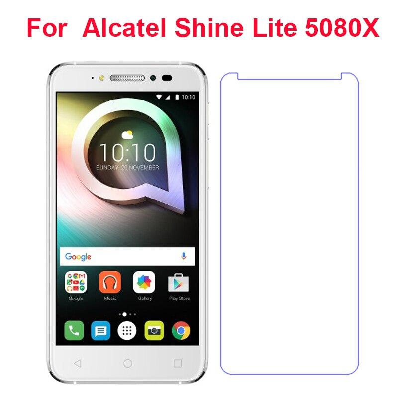 Для Alcatel Shine lite 5080X закаленное Стекло для Alcatel Shine Lite 5080X 5,0 ''Anti-взрыв Премиум Экран защитная пленка чехол