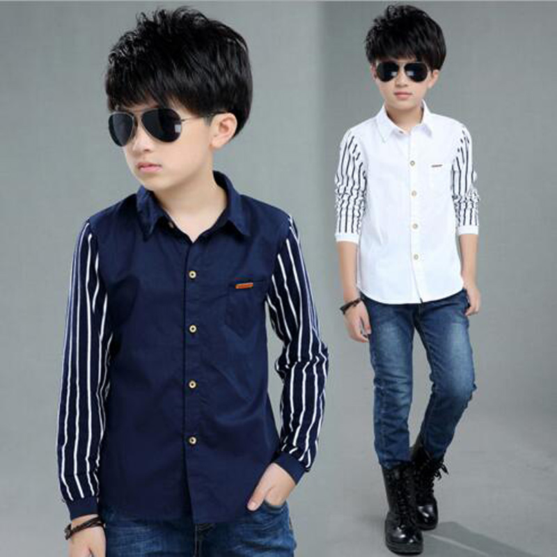 baby boys outwear blouse kids long sleeve shirt spring clothing 5 male child shirt 8 7 long-sleeve shirt 10 12 spring clothes 15 petal sleeve self tie blouse