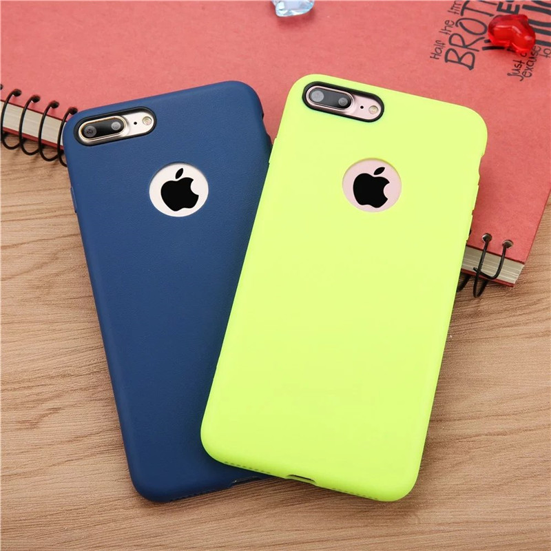 7cdb0fe0caa Aliexpress.com: Comprar Marca oficial Fundas para móviles para iPhone 6 7  más 5 5S caso nuevo diseño Candy color suave TPU teléfono protector conchas  fundas ...