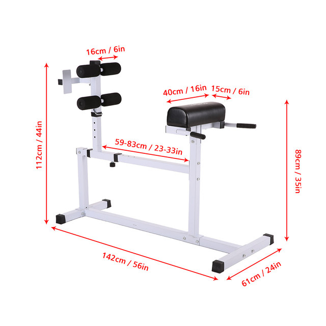 Online Shop TOMSHOO Hyperextension Bench Adjustable Abdominal Back Exercise Hyper  Extension Roman Bench Chair Home Workout Fitness Equipment | Aliexpress ...