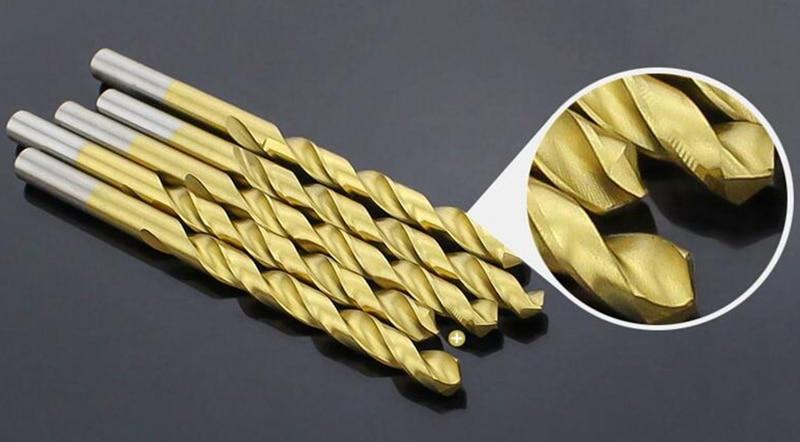 50PCS / sady vrtání vysokorychlostní oceli twist vrták vrták - Vrták - Fotografie 6