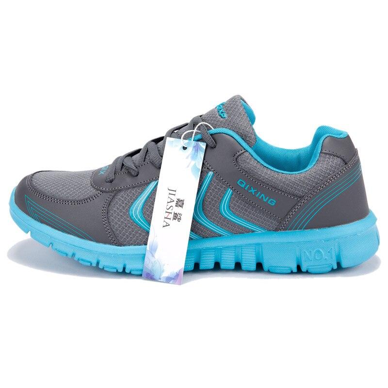 для женщин обувь новинка 2017 года поступления мода свет дышащая обувь с сеткой женская повседневная обувь