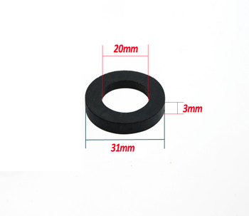 """1000pcs / lot  1"""" 31mm  dn25  rubber o ring shower plumbing hose rubber seal ring gasket standard parts for faucet connector"""