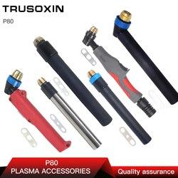 القلم P80 الشعلة لقطع البلازما/قطع آلة الملحقات استخدام رأس مصباح/تبريد الهواء البلازما القاطع