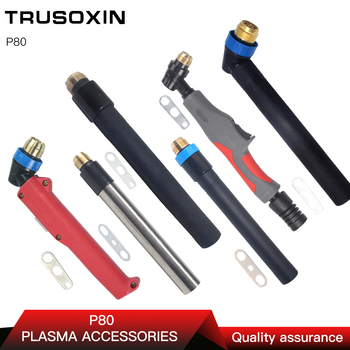 PEN P80 Torch for Plasma Cutter/Cutting Machine Accessories Use Torch Head/Air Cooled Plasma Cutter free shipping 10m cable p80 air plasma cutting torch suit for cut100 cutting machine straight handle high quality