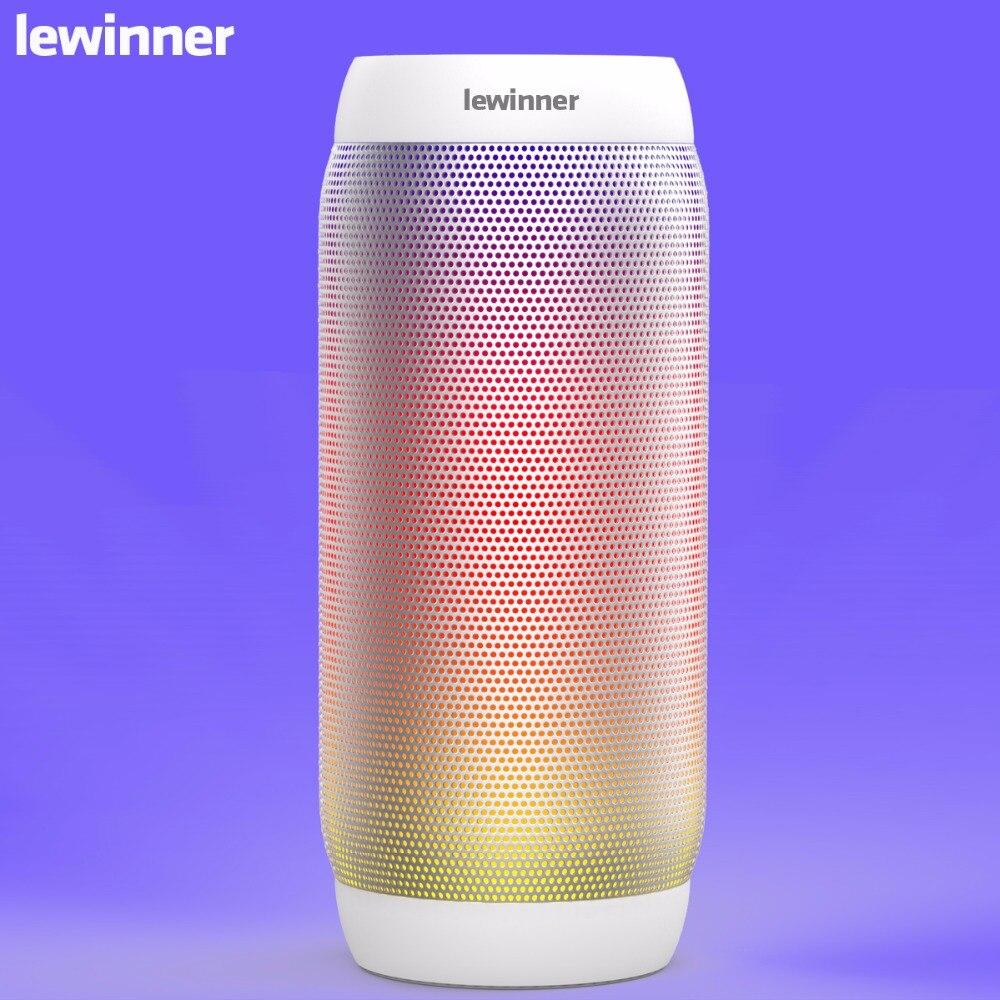 Lewinner BQ615 pro Portable Bluetooth Sans Fil Musique Haut-Parleur TF carte/USB Lecteur Flash FM radio Forte Basse Stéréo avec Mic