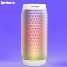 lewinner BQ615 pro Portable Bluetooth Wireless Music Speaker TF card/USB Flash Drive FM radio Strong Bass Stereo with Mic(China)