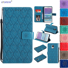 Flip Case for Samsung Note4 N910C N910U SM N910F SM-N910F Case Phone Cover for Samsung Note 4 N910V N910T SM-N910T N910S Coque