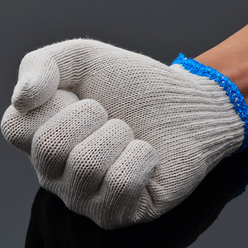 1 Pair New Arrival Safety Gloves Cotton Wear Labour Protection Work Protective Gloves