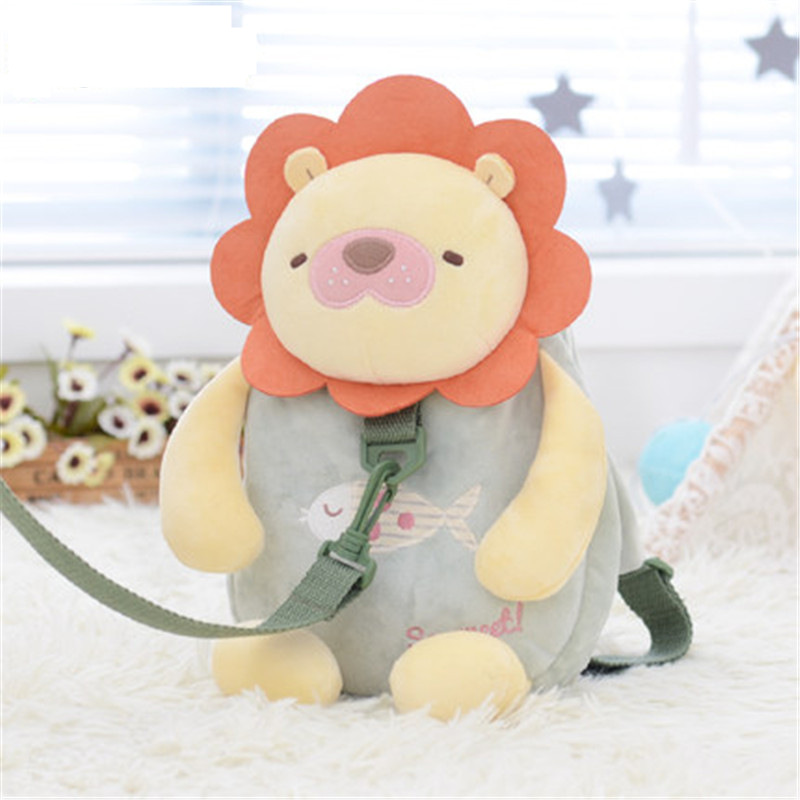 New Cute Animal Baby Toddler Anti lost Leash Harness Strap Walker Kids Safety Harness Strap Backpacks Toddler Walking Anti-Lost цена