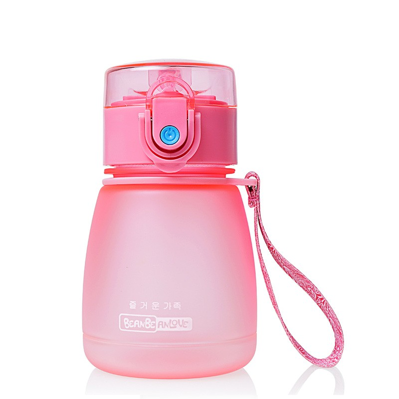 Portable Baby Cup Straw Type Bottles For Water 308ml Eco-friendly PC Water Cup Space Bottle Children Drinking Cup For Kids