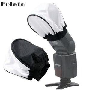 Image 2 - Foleto フラッシュライトソフトディフューザーソフトボックススピードライトカメラアクセサリーキヤノンニコン永諾 godox スピードライト 580ex sb600 sb800