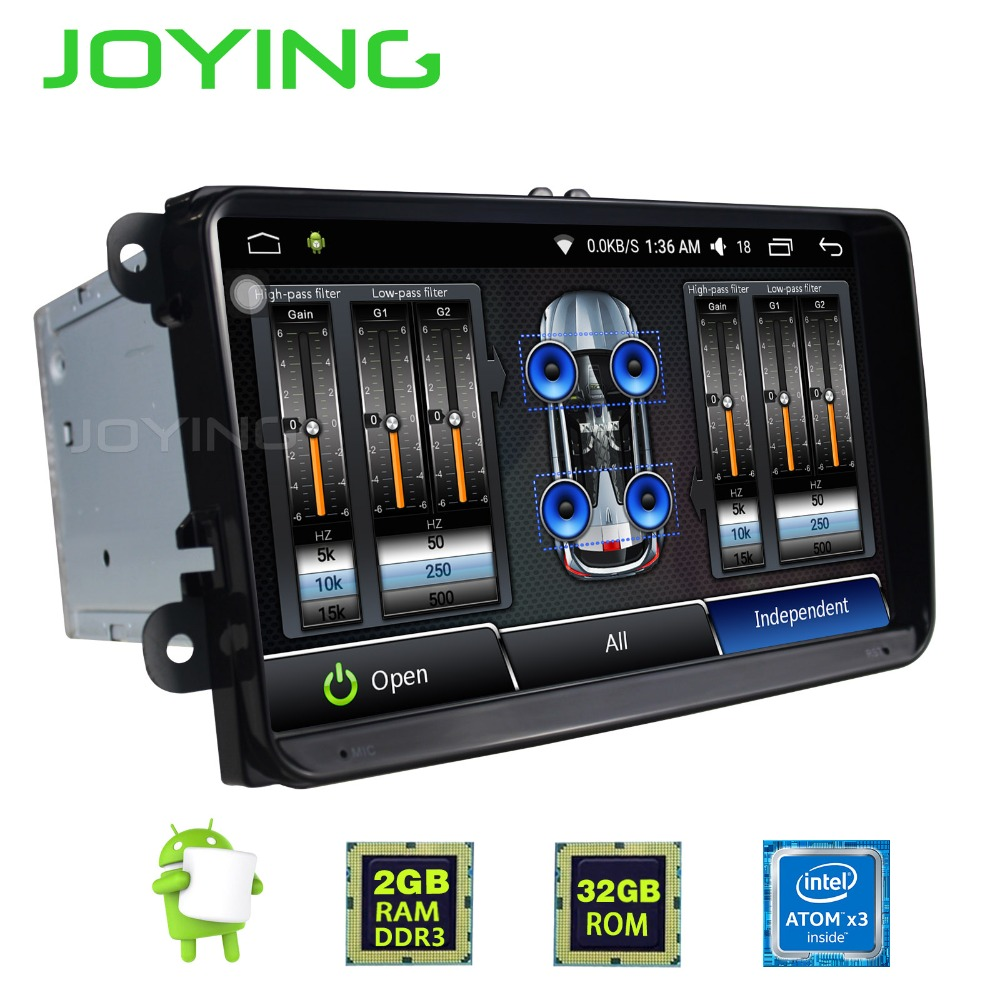 9 joying 2gb ram 2 din android 6 0 car radio stereo head. Black Bedroom Furniture Sets. Home Design Ideas