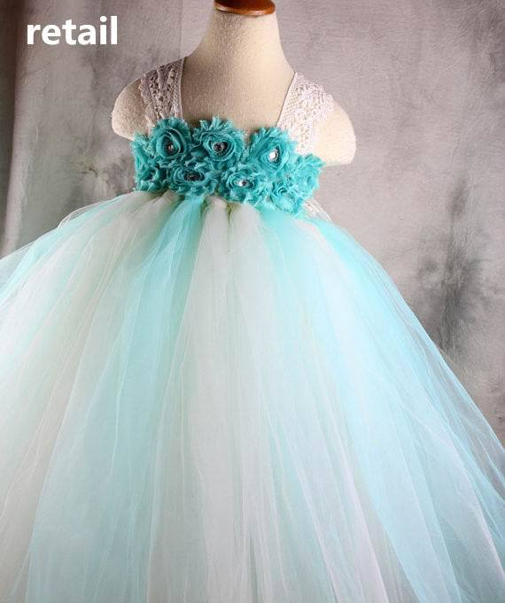 ФОТО Retail Handmake 2015 New Girl TUTU Dress Lace Beading Rose Flower 2 Layer Gauze Princess Dress Girl Party Dress 1-8Y 13775