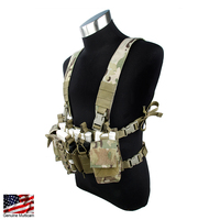 TMC D Mittsu Chest Rig Tactical Vest Cordura Hunting Vest Airsoft Gear Tactical Molle Magazine Pouch Chest Rig 2757