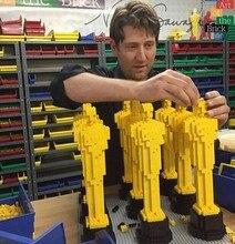 hot deal buy diy oscar statuette model building blocks diy bricks set academy award compatible with legoed blocks