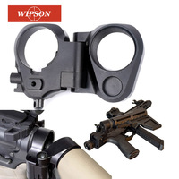 WIPSON Hunting AccessoriesTactical AR Folding Stock Adapter For M16/M4 SR25 Series GBB(AEG) For Airsoft