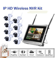 8CH NVR WIFI CCTV Security Camera System 8PCS 960P HD Outdoor Wireless CCTV Kit Video Surveillance