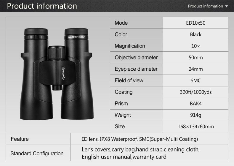 impermeável super-multi revestimento bak4 prisma óptica telescópio de alta potência para a caça