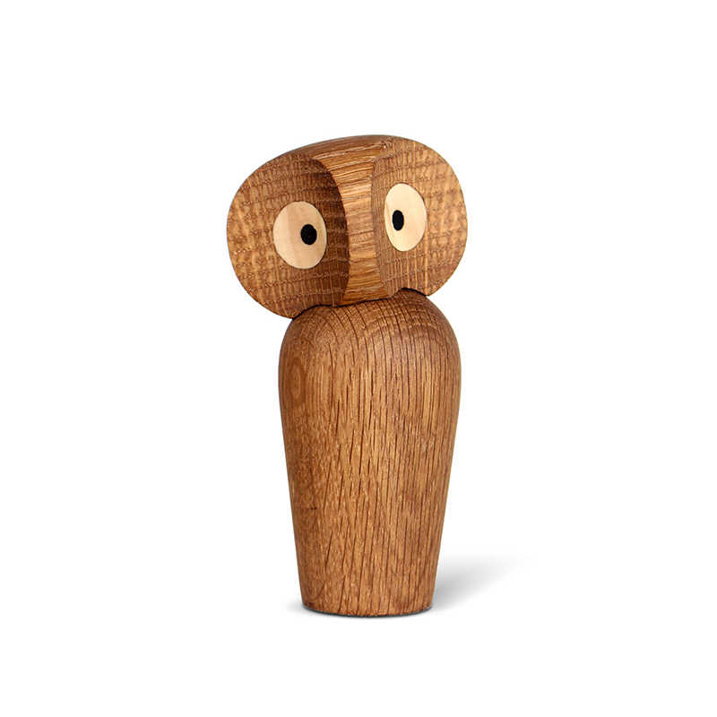 Nordic Style Owl Wooden Crafts Living Room Office Decorations Creative Mini Owl Model Home Accessories Ornaments Birthday Gifts
