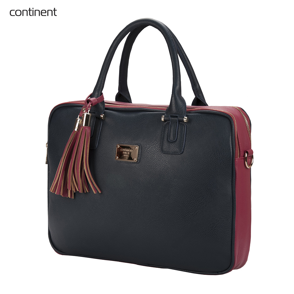 Фото - Laptop Bags & Cases Continent CONCM182NVY for laptop portfolio Accessories Computer Office for male female 2017 hot handbag women casual tote bag female large shoulder messenger bags high quality pu leather handbag with fur ball bolsa