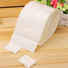 500Pcs Lint Free Wipes Nail Polish Acrylic Gel Remover Towel Paper Cotton Pads Roll Salon Nail Art Cleaner Tools