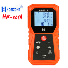 Wholesale prices HORIZONT HR-301A laser rangefinder 80m,with angle measurement Pythagoras test  infrared range finder tools