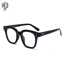 2020 Square Anti Blue Light Optics Glasses Frame Men Women Retro Transparent Spectacles Frames Prescription Eyeglasses