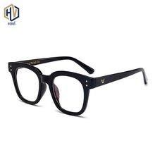 Fashion Round Optics Glasses Frame Men Women Retro Ultralight  Rice Nail Half Spectacles Frames Prescription Eyeglasses