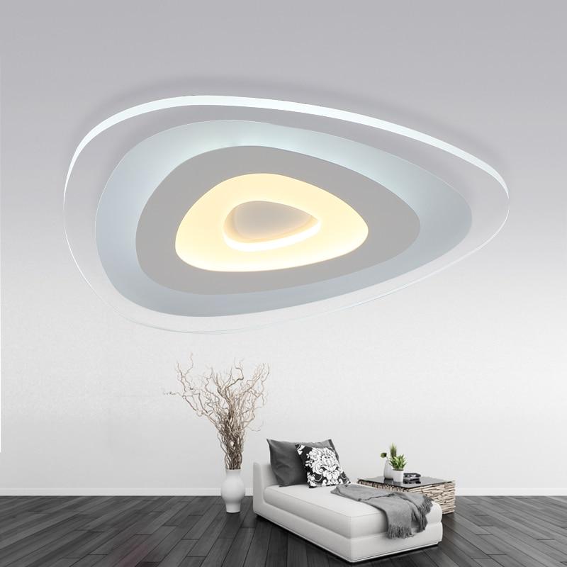 Ultra-thin Acrylic Modern led ceiling lights for living room bedroom Plafon home Lighting ceiling lamp homhome lighting fixtures