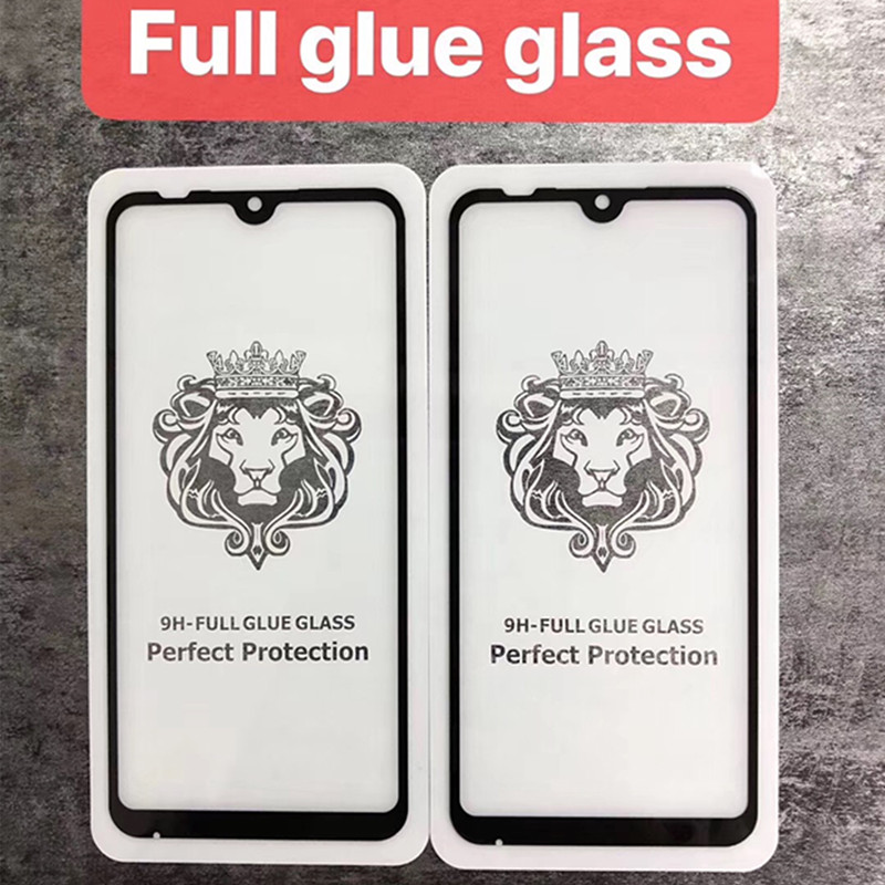 50PCS LOT 9D 5D Full Covered Full Glue Tempered Glass For Xiaomi MI 9SE For Redmi