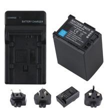 1Pcs 7.4V BP-828 BP 828 BP828 Camera Battery + LCD USB Charger for Canon VIXIA GX10 HFS30 HF20 HG20 G30 G40 XA20 XA25 HFM300